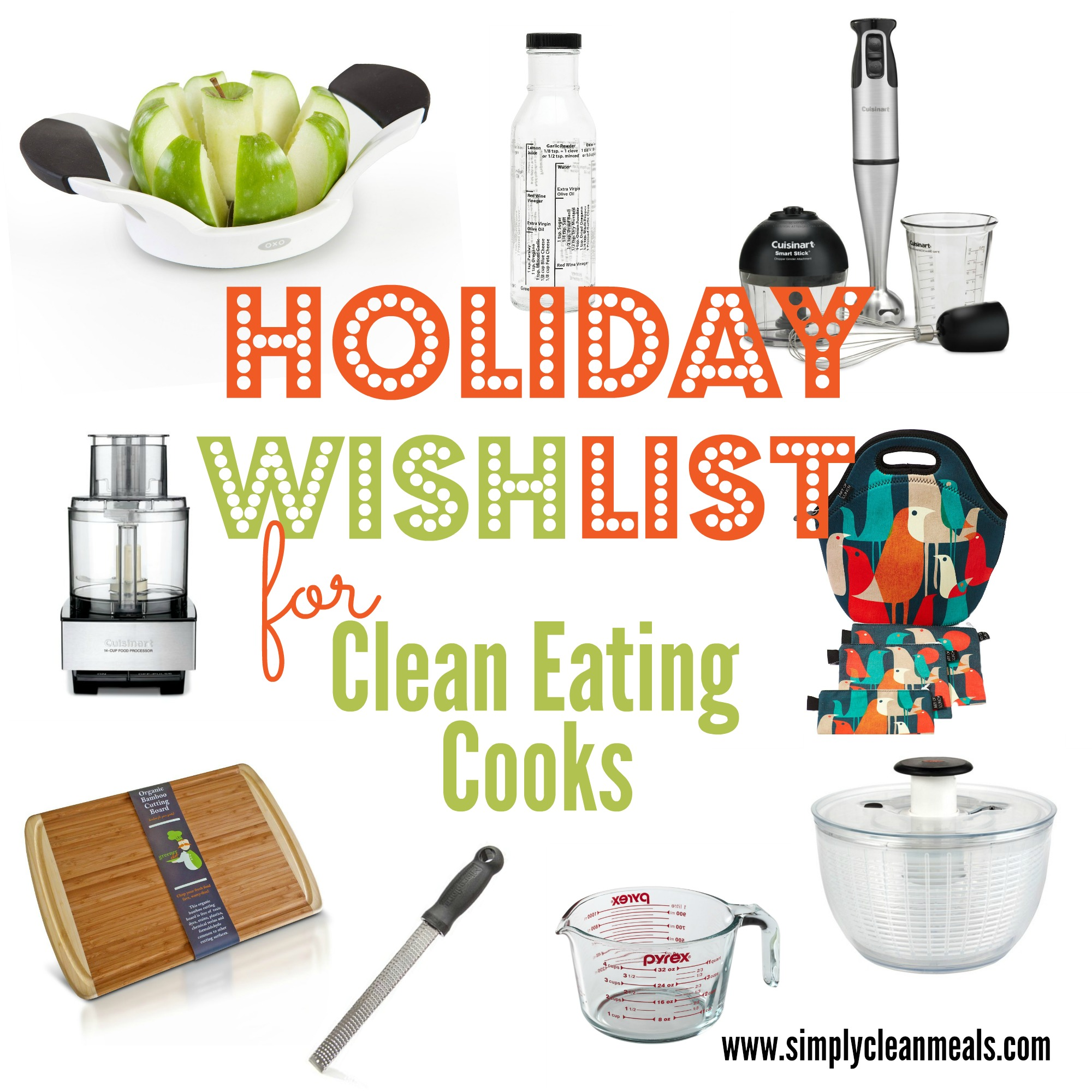 Healthy Thanksgiving Swaps Holiday Wish List