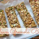 Clean Granola Bars {easy, no bake} thumbnail