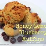 Honey Lemon Blueberry Muffins {perfect afternoon snack} thumbnail